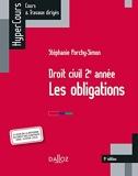 Droit civil 2e année, les obligations - 9e éd. Les obligations