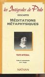 Méditations métaphysiques - Presses Universitaires de France (PUF) - 08/01/2001