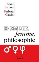 Homme, femme, philosophie d'Alain Badiou