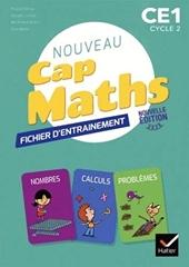 Cap Maths CE1 Éd. 2020 - Fichier + Cahier de Géométrie + livret de problèmes de Roland Charnay