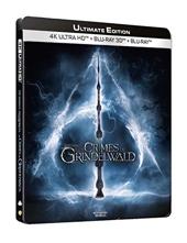 Les Animaux fantastiques - Les Crimes de Grindelwald [U fltimate Edition-4K Ultra HD 3D Blu-Ray Version Longue-Boîtier SteelBook Limité]