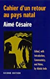 Cahier D'UN Retour Au Pays Natal - Ohio State University Press - 01/03/2000