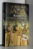 Ramses Tome 2 - Le temple des millions d'annees - Succès du livre éditions - 01/02/2002
