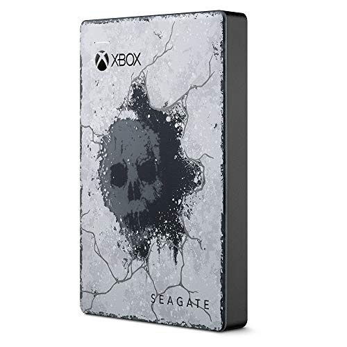 Seagate Technology Technology Gamedrive pour Xbox, 2To Edition Limitée Collector Gears 5, Abonnement 1 Mois Game Pass avec accès à Gears 5 Offert
