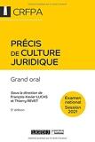Précis de culture juridique - CRFPA - Examen national Session 2021 - Grand oral (2021)