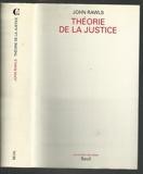 Theorie De La Justice - Seuil - 01/02/1987