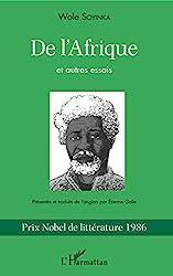 De l'Afrique - Et autres essais de Wole Soyinka