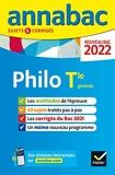 Annales du bac Annabac 2022 Philosophie Tle générale - Méthodes & sujets corrigés nouveau bac