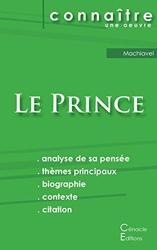 Fiche de lecture Le Prince de Machiavel (Analyse philosophique de référence et résumé complet) de Nicolas Machiavel