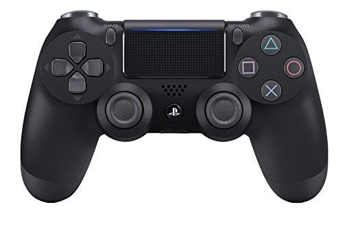 Sony Manette PlayStation 4 officielle, DUALSHOCK 4, Sans fil, Batterie rechargeable, Bluetooth, Jet Black (Noire)
