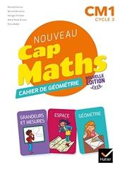 Cap Maths CM1 Éd. 2020 - Cahier de Géométrie-Mesure de Roland Charnay