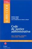 Code de justice administrative 2002-2003 (ancienne édition)