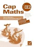 Cap maths CE2 - Matériel photocopiable (versions manuel et fichier) - Hatier - 15/07/2011