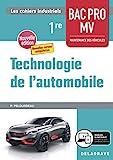 Technologie de l'automobile 1re Bac Pro MV (2020) - Pochette élève - Pochette élève (2020) - DELAGRAVE - 24/01/2020