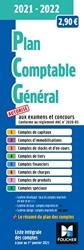 Plan comptable général - Pcg - 2021-2022 de Paugam Sebastien