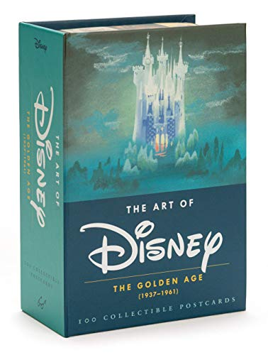 The art of disney : the golden age (1928-1961) postcards