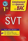 Spécialité SVT - Première - EC évaluations communes Bac