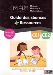 Méthode Heuristique de Mathématiques Pinel CE1/CE2 - Guide pédagogique - 2019 de Nicolas Pinel