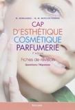 CAP d'esthétique cosmétique parfumerie - Fiches de révision de Micheline Hernandez (2 décembre 2011) Broché