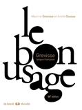 Le bon usage 14E édition (2007)