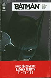 Pack découverte Batman Rebirth T1 + T2 offert de David Finch