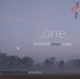 One dimetrik plays cage - In a Landscape/One. [Import]