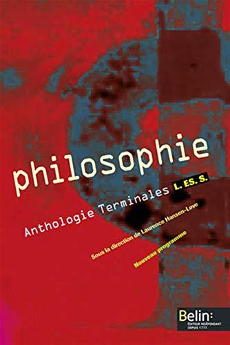 Philosophie - Terminale L, ES, S (2004)