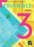 Triangle Mathématiques 3e éd. 2012 - Manuel de l'élève de Michel Mante,Gisèle Chapiron,René Mulet-Marquis ( 16 mai 2012 ) - Hatier; Édition 3e édition (16 mai 2012) - 16/05/2012