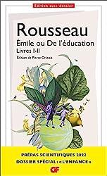 Émile ou De l'éducation, Livres I-II - Prépas scientifiques 2022 de Jean-Jacques Rousseau