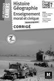 Les Nouveaux Cahiers - Histoire-Géographie-EMC - Tle BAC PRO - Corrigé - Foucher - 21/04/2016