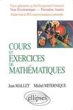 Cours Et Exercices De Mathématiques Tome 1 - Algèbre