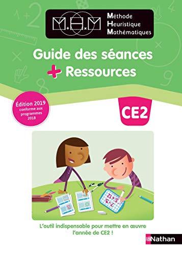 Méthode Heuristique de Maths (Pinel) Guide des séances + Ressources CE2 2019