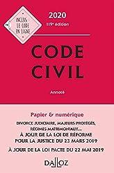 Code civil 2020, annoté - 119e ed. de Xavier Henry