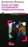 Discours sur l'origine et les fondements de l'inégalité parmi les hommes by Jean-Jacques Rousseau (2006-09-21) - Folio - 21/09/2006