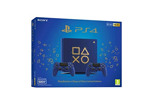 PS4 500 Go Edition Limitée Days of Play + 2ème Manette Edition Limitée Days of Play