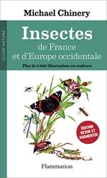 Insectes de France et d'Europe occidentale de Michael Chinery