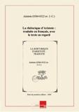 La rhétorique d'Aristote - Traduite en français, avec le texte en regard, et suivie de notes philologiques et littéraires [édition 1856] - Chapitre.com - Impression à la demande - 01/01/2014