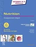 Nutrition - Enseignement intégré - UE Nutrition