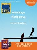 Petit pays - Livre audio 1CD MP3 - Suivi d'un entretien avec l'auteur - Audiolib - 30/11/2016