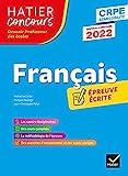 Français - CRPE 2022 - Epreuve écrite d'admissibilité