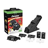 Energizer - Chargeur de batterie xbox one + 2 batteries incluses - Noir