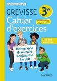 Cahier Grevisse 3e (2021) Français - 3e - Edition 2021