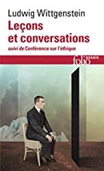 Leçons et conversations sur l'esthétique, la psychologie et la croyance religieuse / Conférence sur l'Ethique de Ludwig Wittgenstein