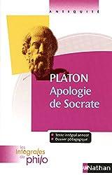 Les intégrales de Philo - PLATON, Apologie de Socrate - PLATON, Apologie de Socrate de Pierre Pellegrin