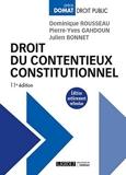 Droit Du Contentieux Constitutionnel - Lgdj - 11/10/2016