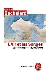 L'air et les songes - Essai sur l'imagination du mouvement de Gaston Bachelard