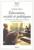 Education, Société et Politiques. Une histoire de