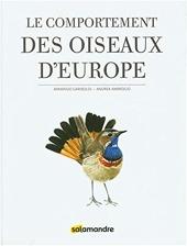 Le comportement des oiseaux d'Europe d'Armando Gariboldi