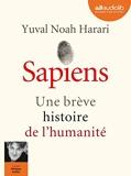 Sapiens - Livre audio 2 CD MP3 - Audiolib - 07/06/2017