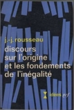 Discours Sur L'Origine Et Les Fondements De L'Inegalite Parmi Les Hommes - Idees/Nrf/Livre De Poche
